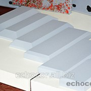 Отделка фаской акустических панелей ЭхоКор 30 мм фото