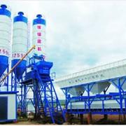 Стационарный бетонный завод HZS35 фото