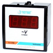 Электронный вольтметр щитовой TENSE 96х96 фото