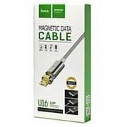 USB-кабель HOCO Type-C Magnetic Data Charging U16 1.2 m (черный) фото