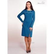 Платье 1460 Бирюза цвет фото
