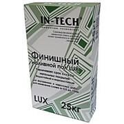 Самовыравнюющийся наливной пол In-Teck Lux финишный 25 кг фото