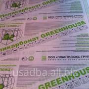 Сотовый поликарбонат Greenhouse 4мм*12м фото