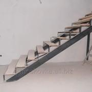 Лестница из металлокаркаса P8280024 фото