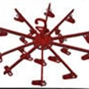 Вешалка зонтик на 20 прищепок Марч фото