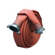 Рукав пожарный латексный диам. 66 мм в сборе с головками фото