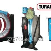 Сварочный аппарат Turan Makina AL 1200. Аппарат для сварки в стык ПЕ трубы больших диаметров. фото