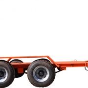 Прицепы автомобильные для перевозки спецтехники фото