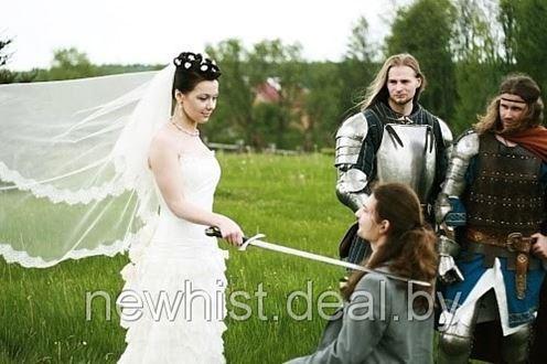Прически для невест с фатой на средние волосы фото