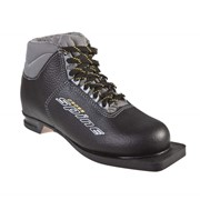 Ботинки лыжные Spine Cross 35сп кожа NN7, для беговых лыж фото