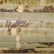 Бамбуковые обои | Murani, Черепаха 1000х90х17 светлые зеленые фото