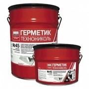 Герметик бутил-каучуковый №45 серый, 16кг ТехноНИК фото