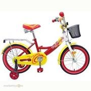 "Велосипед 2-х 12"" ВН12015К Топ Гир Юниор красн/желт. фото"