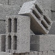 Фундаментный керамзитобетонный блок 900 х 600 х 600 мм фото