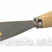 Шпательная лопатка Stayer Master c деревянной ручкой, 80мм Код: 1001-080 фото