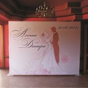 Аренда пресс стены, свадебного фона.