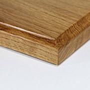Столешница из дуба круглая : 20 мм ,70 см фото