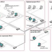 Монтаж и обслуживание компьютерных сетей. фото