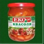 Фасоль в томатном соусе ТМ Экосвит