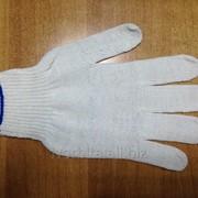 Перчатки х/б 4-х нитка без ПВХ покрытия (вес 32-34 гр) 116 Текс фото