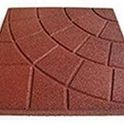 Квадратная однотонная плитка PlayMix, сетка, паутинка для балконов фото
