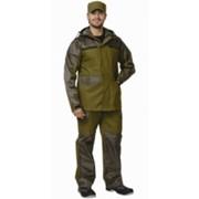 Костюм Эверест (куртка, брюки) (п-но палаточное) хаки фото