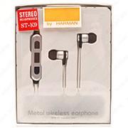 Беспроводные металлические наушники Wireless ST-K9 Grey фото