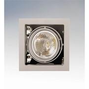 Карв комплектенный светильник LightstarCARDANO титан 214117 фото