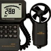 Термоанемометр с измерением объёмного расхода воздуха AR846 фото