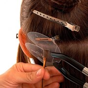 Наращивание волос (euro.so.cap) на капсулах фото