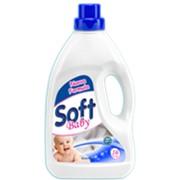 Жидкое средство для стирки детских вещей Soft Baby 1 л. фото