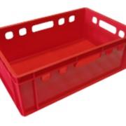Ящик мясной пластиковый Европак 600х400х250 фото