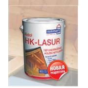 Декоративная лазурь с антисептиком для защиты и отделки древесины снаружи AIDOL HK-LASUR фото