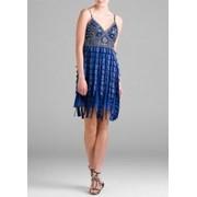 Прокат вечернего платья Sue Wong Blue Layered Short Dress фото