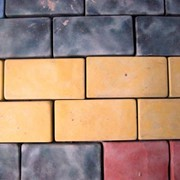 Плитка тротуарная Кирпичик 100х200х40 фото