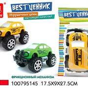 Машина инерционная Джип для кросса BestЦенник в пак.,100795145/A001 фото