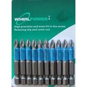 Биты PH2х50 набор 10шт Whirlpower