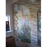 Роспись стен, мебели фото