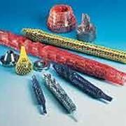 Трубчатые сетки для защиты и упаковки инструментов, деталей и бутылок фото