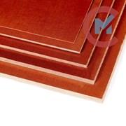 Текстолит листовой 40х1000х1000 мм ПТ, ПТК ГОСТ 28611-90 фото