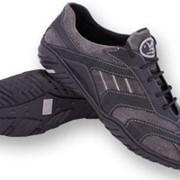 Туфли мужские спортивные Спорт, модель 012 сер фото