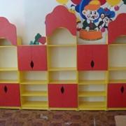 Шкафчики для детских садов, яслей, изготовление, под заказ фото
