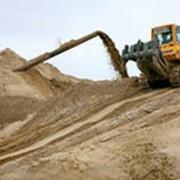Песок горный фото