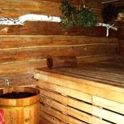 Сауны, бани деревянные фото