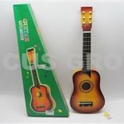 Гитара детская. Упаковка: коробка 27*7*64см. фото