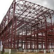 Монтаж стальных каркасов зданий фото