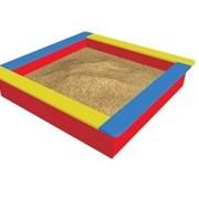 Песочница из пластиковой доски фото