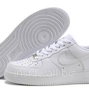 Кроссовки Nike Air Force 1 Woman Low White Premium фото