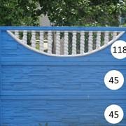 Декоративные заборы модель 6 фото
