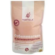 Отбеливатель и пятновыводитель для белых вещей Tortilla 200 г фото